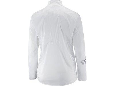 SALOMON Damen Jacke S/LAB LIGHT JKT W White Silber