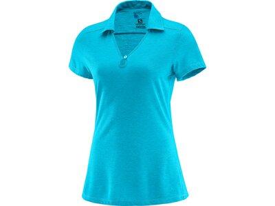 SALOMON Damen Shirt Ellipse Polo W Blau