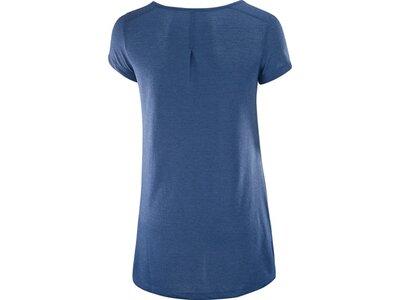 SALOMON Damen Shirt Ellipse Scoop Ss W Blau