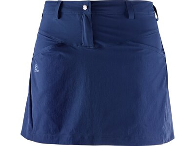 SALOMON Damen Rock Wayfarer Skirt W Blau