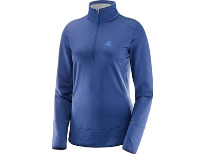 SALOMON Damen Shirt DISCOVERY HZ Blau