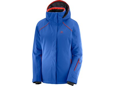 SALOMON Damen Skijacke Strike Jacket Blau