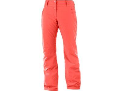 SALOMON Damen Hose Damen Skihose Strike Pant Orange