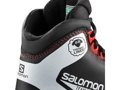 SALOMON Kinder Langlauf-Skischuhe TEAM PROLINK JR Schwarz