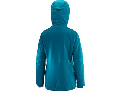 SALOMON Damen Skijacke QST SNOW JKT W Blau