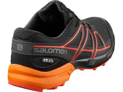 SALOMON Kinder Schuhe SPEEDCROSS CSWP J Bk/Tangel Schwarz