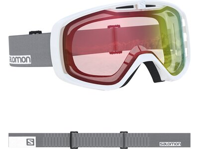 SALOMON Skibrille AKSIUM PHOTO WHITE Weiß