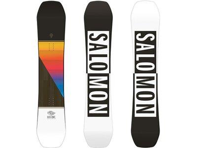 SALOMON Kinder Snowboard HUCK KNIFE GROM Schwarz