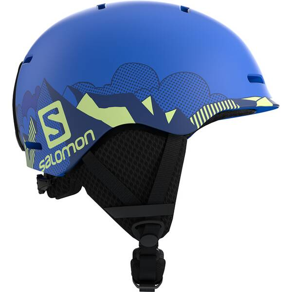 SALOMON Kinder Helm HELMET GROM Pop Blue Mat