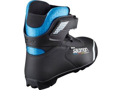 SALOMON Kinder Langlauf-Skischuhe R/COMBI PROLINK JR Schwarz