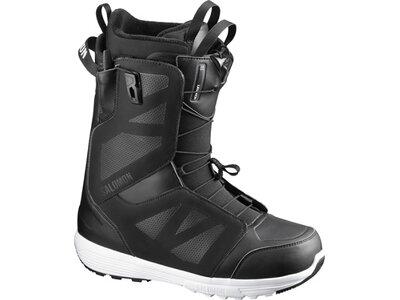 SALOMON Herren Snowboard-Schuhe LAUNCH Black/Black/White Grau