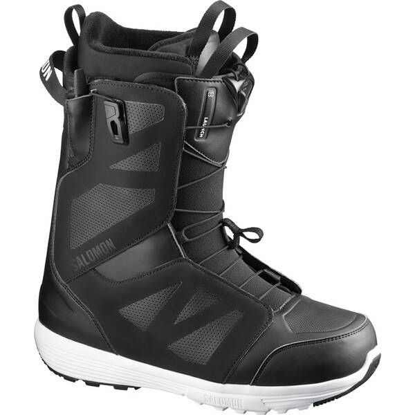 SALOMON Herren Snowboard-Schuhe LAUNCH Black/Black/White