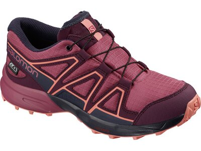 SALOMON Kinder Schuhe SPEEDCROSS CSWP J Malaga/Po Grau