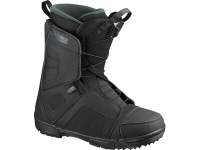 SALOMON Herren Snowboard-Schuhe TITAN Black/Black/GREEN Schwarz
