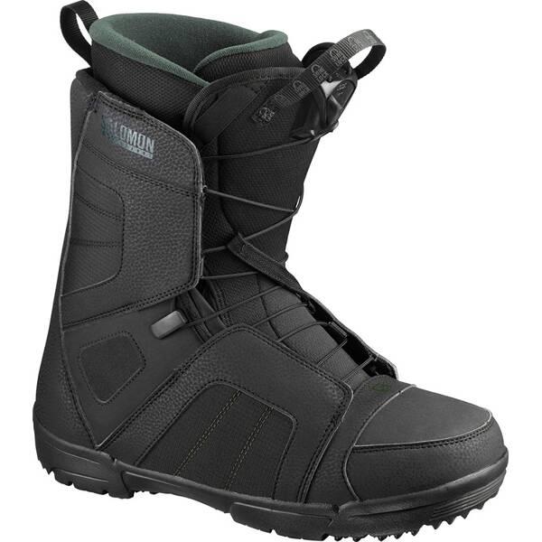 SALOMON Herren Snowboard-Schuhe TITAN Black/Black/GREEN
