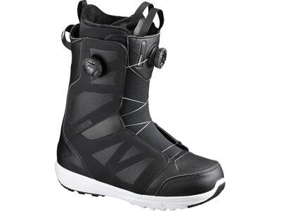 SALOMON Herren Snowboard-Schuhe LAUNCH BOA SJ BOA Black Grau