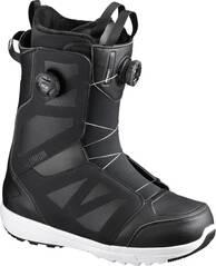 SALOMON Herren Snowboard-Schuhe LAUNCH BOA SJ BOA Black