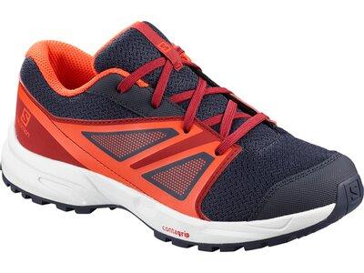 SALOMON Kinder Schuhe SENSE J Ev Blue/Rd Dahlia/C Grau
