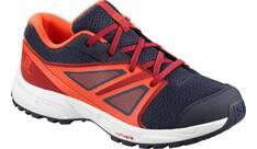 Vorschau: SALOMON Kinder Schuhe SENSE J Ev Blue/Rd Dahlia/C