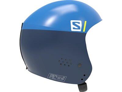 SALOMON Kinder Helm S RACE FIS INJECTED JR Blue Blau