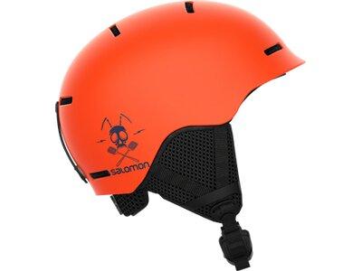 SALOMON Kinder Helm HELMET GROM Flame Orange