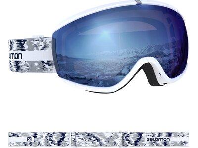 SALOMON Damen Skibrille iVY SIGMA WHITE GLITCH Weiß
