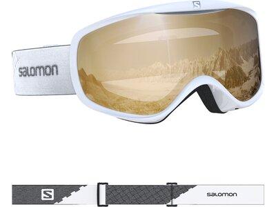 SALOMON Damen Skibrille SENSE ACCESS WHITE Weiß