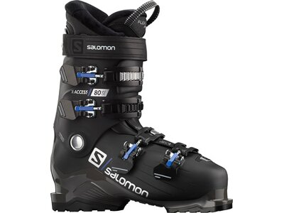 SALOMON ALP. BOOTS X ACCESS 80 wide BLACK/White Schwarz