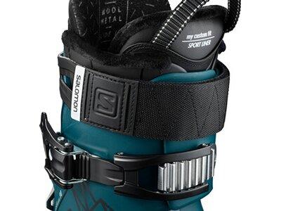 SALOMON ALP. BOOTS QST Access 90 Blue/BLACK/Wh Blau