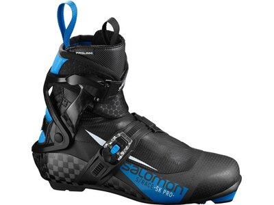 SALOMON Langlauf-Skischuhe S/RACE SK PRO PROLINK Schwarz