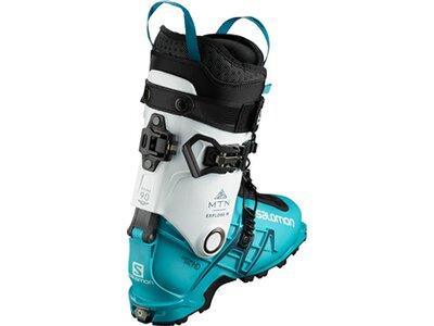 SALOMON ALP. BOOTS MTN EXPLORE W Wh/SCUBA BLUE/B Grau