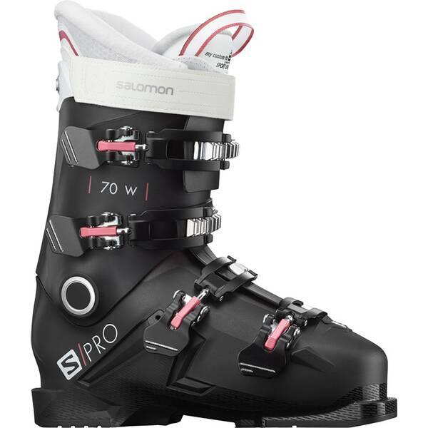 SALOMON ALP. BOOTS S/PRO 70 W BLACK/Pink/Wh