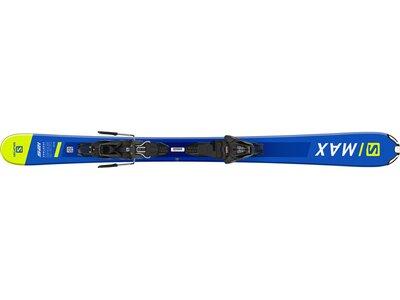 SALOMON Ski E SHORTMAX 120 + L10 GW L9 Grün