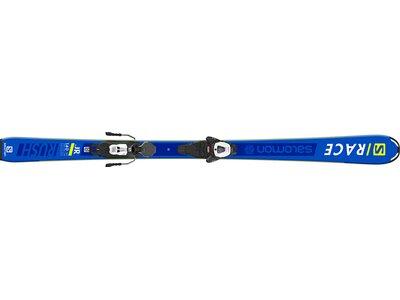 SALOMON Kinder Ski L S/RACE RUSH Jr + L6 GW J Weiß
