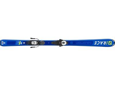 SALOMON Kinder Ski L S/RACE Jr M + L6 GW J2 8 Blau
