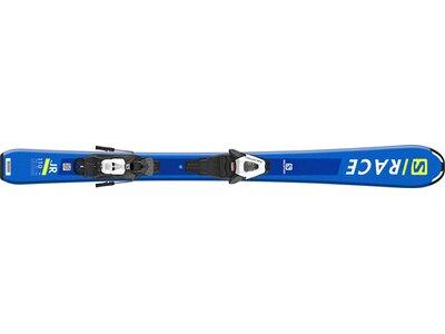 SALOMON Kinder Alpinski Set L S/RACE Jr S + C5 GW J75 Blau