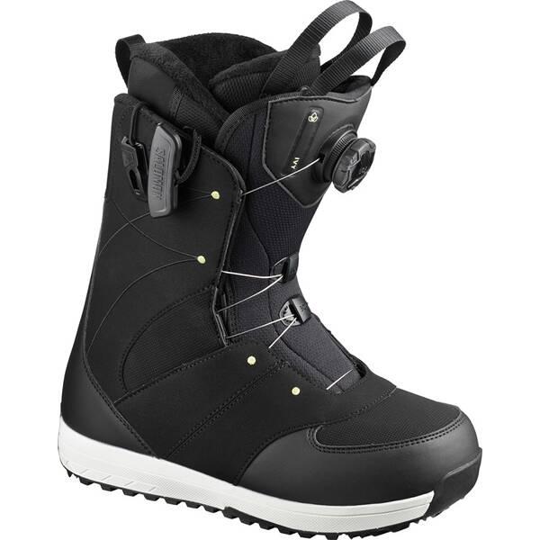 SALOMON Damen Snowboard-Schuhe IVY BOA SJ Bk/Bk/Pale Lim