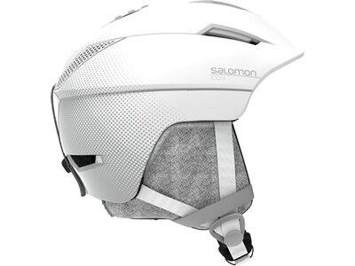 SALOMON Damen Helm ICON² M White Silber