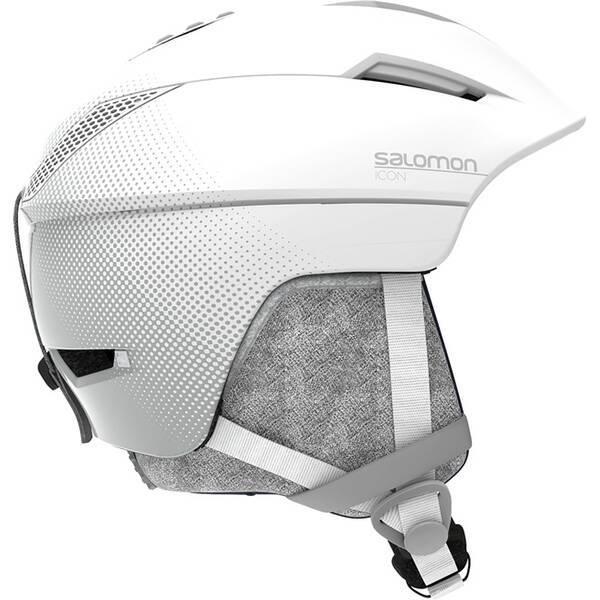 SALOMON Damen Helm ICON² M White