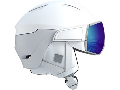 SALOMON Damen Helm MIRAGE PHOTO Grau