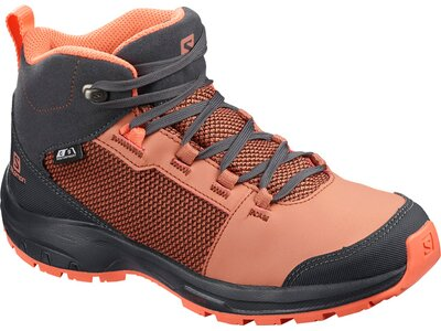 SALOMON Kinder Trekkingstiefel OUTward CSWP J Cedar Grau