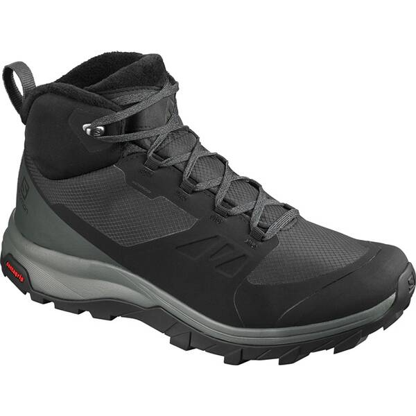 SALOMON Herren Outdoorschuhe (Mid) OUTsnap CSWP