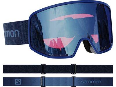 SALOMON Skibrille LO FI SIGMA Blau