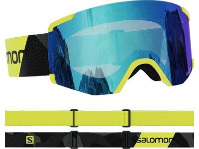 SALOMON Skibrille S/VIEW Gelb