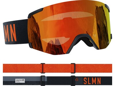SALOMON Skibrille S/VIEW Schwarz