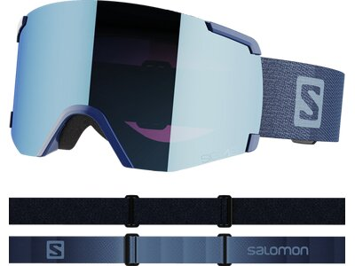 "SALOMON Herren Skibrille ""S/View Sigma"" Blau"