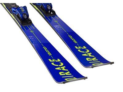 SALOMON Herren Racing Ski SKI SET X S/RACE RUSH SL + X12 TL GW Blau