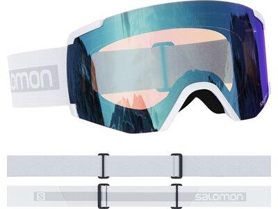 """SALOMON Skibrille """"S/View Photochromic"""" Weiß"""