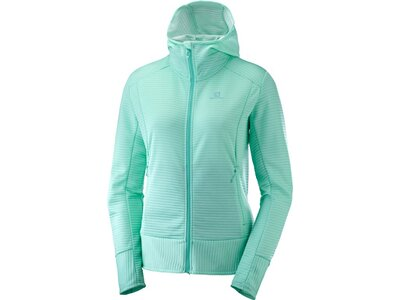 SALOMON Damen Kapuzensweat RIGHT NICE MID Blau