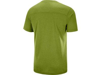 SALOMON Herren T-Shirt EXPLORE GRAPHIC SS TEE M AVOCA Grün